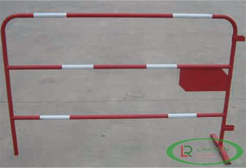 Red barrier with Reflective Board