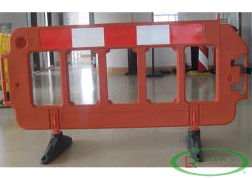 Traffic Barrier with Reflective tape